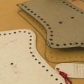 ZOOMORPH pattern marked on felt